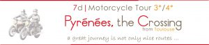 motorcycle tour pyrenees france spain