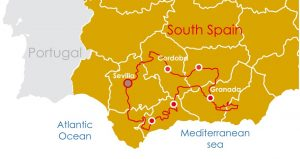 motorcycle tour andalucia spain