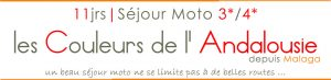 bagnère du voyage moto en Andalousie Espagne les couleurs