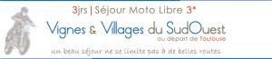 voyage moto sud france 3j etiquette