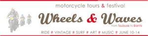 voyage moto avec assistance et ttransport de baguages pour ce trip au Wheels&Waves