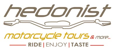 logo Hedonist Motorcycle Tours