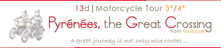 motorcycle tour pyrenees france spain travel