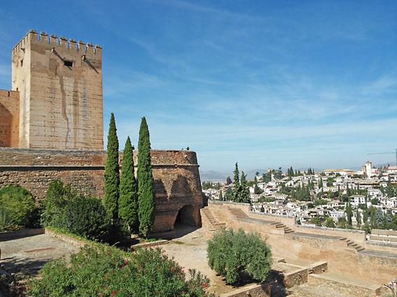 andalousie voyage moto Espagne alhambra