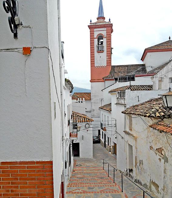 villages blancs voyage moto andalousie Espagne