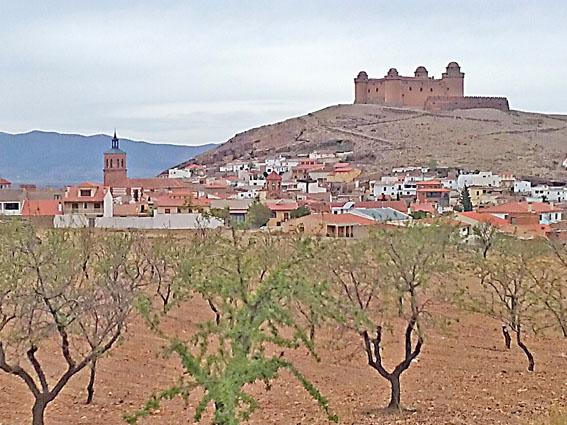 forteresse andalousie voyage moto Espagne