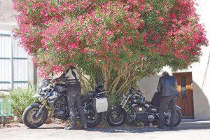 un peu de fraîcheur lors de ce voyage moto France Harley davidson