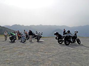 Voyage Harley Davidson Pyrénées col
