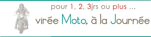 voyage moto à la journée, location moto