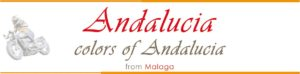 logo Motorcycle tour andalucia spain Colors