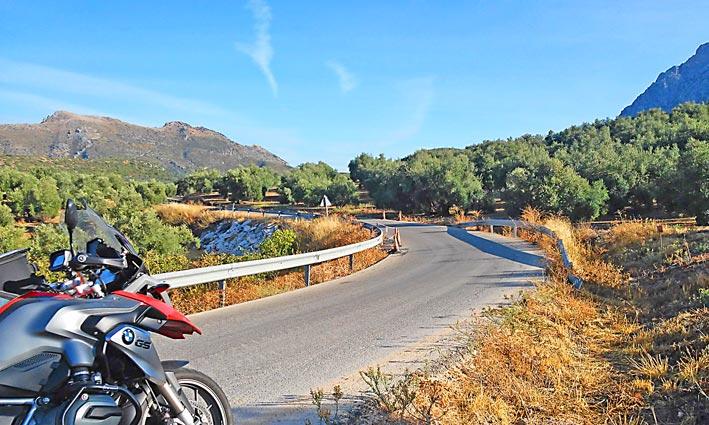 Agence Voyages Moto Bmw Espagne Andalousie
