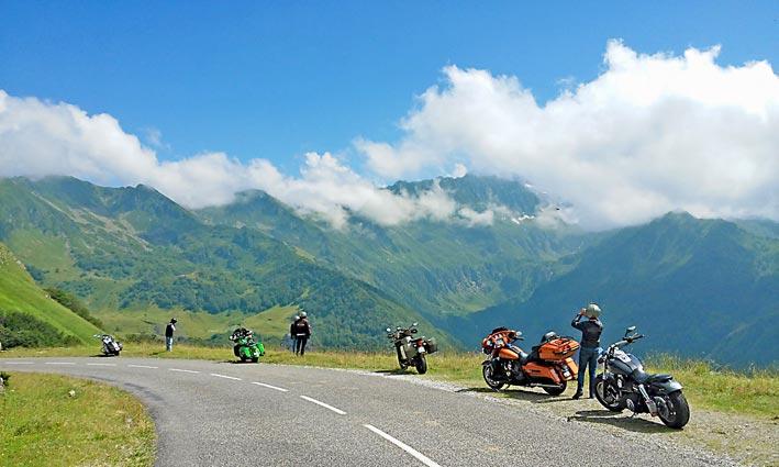 Sejour Moto Harley Davidson France Pyrenees
