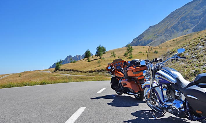 Agence Voyages Moto Harley France Pyrenees