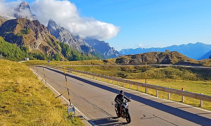 Agence Voyages Moto Italie Dolomites