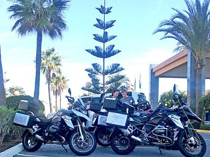 Voyage Moto Espagne Andalousie