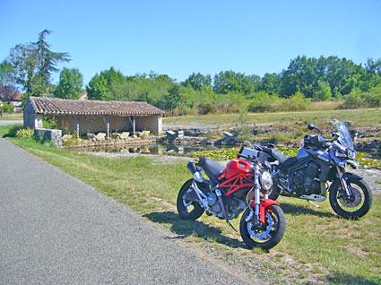 voyage-moto-france-sud Dordogne