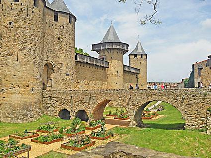 voyage-moto france sud Carcassonne canal midi