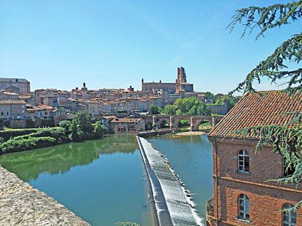 voyage-moto france sud Albi Toulouse