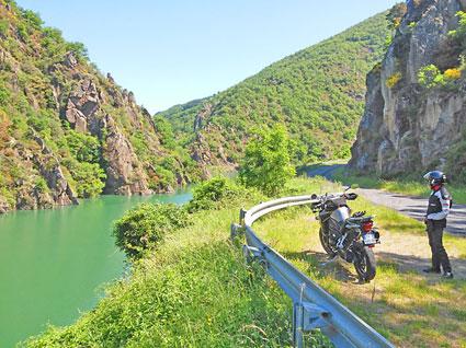 voyage-moto-france-sud Millau