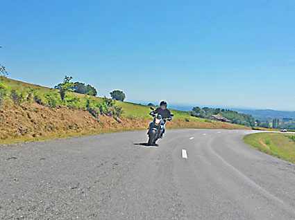 voyage-moto france sud Cordes