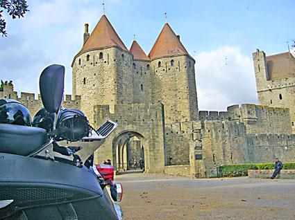 voyage-moto france sud Carcassonne