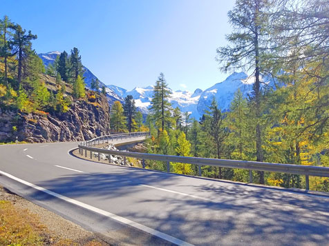 Voyage Traversée des Alpes à moto 17