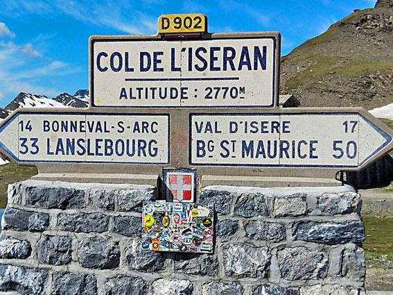voyage moto france alpes Iseran