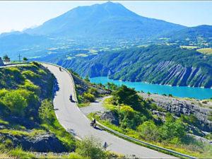 voyage moto france alpes grande route