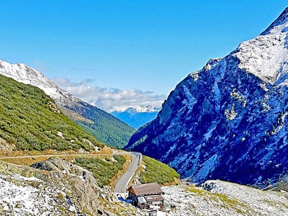 voyage moto france alpes itineraire