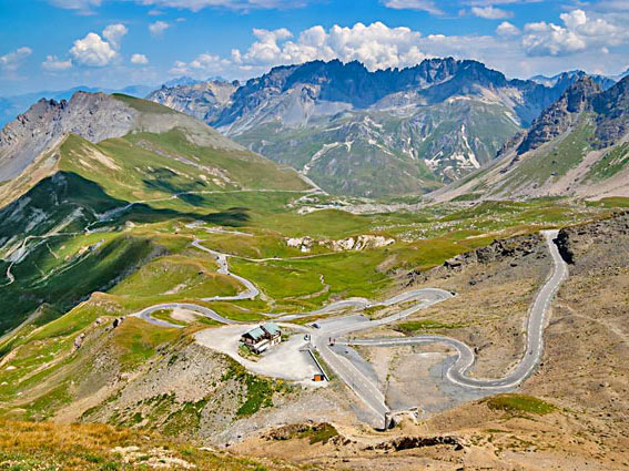 voyage moto france grande route alpes Iseran