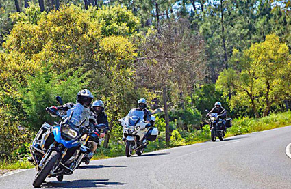 Voyage Moto Suede 3 forêts