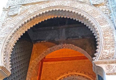 Porte voute maroc voyage moto