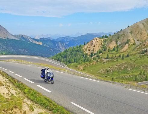 itinéraire séjour moto Alpes